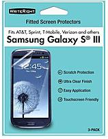 Writeright 92891 Screen Protectors For Samsung Galaxy S Iii - 3 Pack