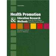Health Promotion & Education Research Methods: Using the Five-Chapter Thesis/Dissertation Model