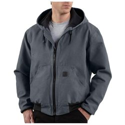 Carhartt Work Jacket Mens Sandstone Active Jac Lined L J360
