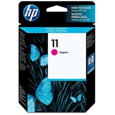 Hp Inc. C4837a 11 - 28 Ml - Magenta - Original - Ink Cartridge - For Business Inkjet 1000  1100  1200  2300  2800  Designjet 11x  70  Officejet Pro K850