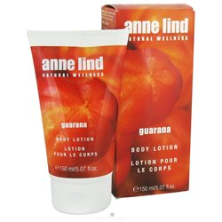Borlind of Germany - Anne Lind Natural Wellness Body Lotion Guarana - 5.07 oz. CLEARANCE PRICED