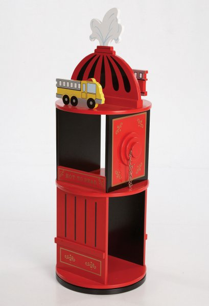 Firefighter Revolving Bookcase - by Levels Of Discovery - LOD20037