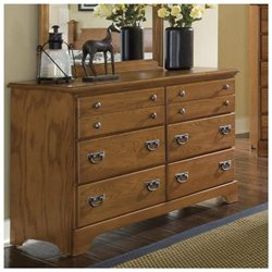 Creek Side Collection Double 6-Drawer Dresser