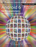 The professional programmer's Deitel® guide to smartphone and tablet app development using Android™ 6 and Android Studio Billions of apps have been downloaded from Google Play™! This book gives you everything you need to start developing great apps quickly and getting them published on Google Play™