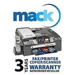 Mack 3 Year Extended Warranty for Scanners, Printers and Fax Machines (with a retail value of up to $2000.00)