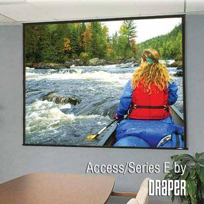 Draper  Inc. 104016 Access/series E Ntsc Format - Projection Screen - Motorized - 4:3 - Fiberglass Matt White
