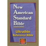 New American Standard Bible Ultrathin Reference : Burgundy, Bonded Leather