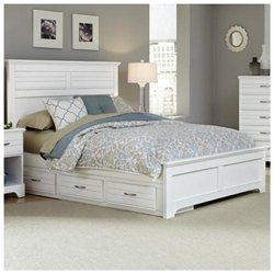 Platinum Collection Bed with Panel Headboard and Footboard