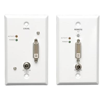 B140-1A1-WP DVI over Cat5 Active Extender Wallplate Kit - video extender