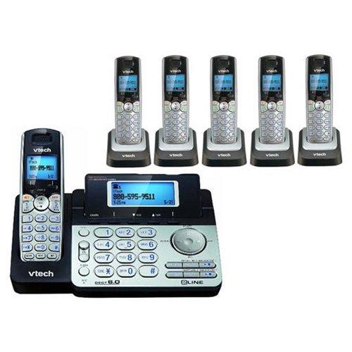 Vtech DS6151   (5) DS6101 DECT 6.0 6 Handset Cordless Phone