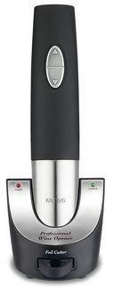 Waring Pro WO50 Professional Cordless Wine Opener - Black/Stainless