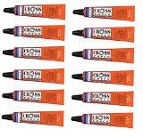 DYKEM Cross-Check - Tamperproof Marker / Torque Seal - 1 oz Tube (12 Pack, Orange)