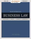 Mindtap Business Law For Mann/roberts Smith & Roberson's Business Law [instant Access] 1 Term (6 Months)