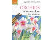 Orchids In Watercolour (ready To Paint)