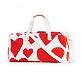Ban.do 51215 Extreme Super Cute Hearts Getaway Duffle Bag