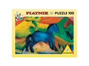 Marc - The Little Blue Horse Art For Kids Puzzle: 100 Pcs