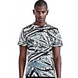 CAUAU47 Men's 3D Print Funny Beltway T-shirt