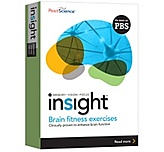 Posit Science Inskitmacdomret1urev Insight Brain Fitness Exercises - Memory, Vision, Focus - Software - Mac / Apple Only