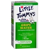 Little Remedies Gripe Water Herbal Supplement for Stomach Discomfort, Colic & Hiccups, 2 - 2oz bottles