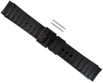 """""""Suunto Elementum Terra Rubber Watch Strap, ALL Black Brand New Includes 1 Year Manufacturer's Warranty, Product # SS018326000 (Black) Product # SS014827000 (Black / Silver) The Suunto Elementum Terra Rubber Strap is a light-weight, sleek, non-slip and durable band that fits all suunto elementum model watches and heart rate monitors"""