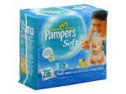 Pampers Baby Wipes Refl Aloe Size: 216