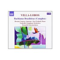 Hector Villa-Lobos - Bachianas Brasileiras (Complete)(Schermerhorn, Nashville SO) (Music CD)