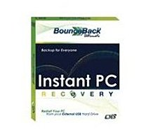 BounceBack Ultimate offers users its exciting Instant PC Recovery to restart their Windows based PC via the USB connection to an external hard disk, thereby freeing users from the worry of their system's hard drive failing