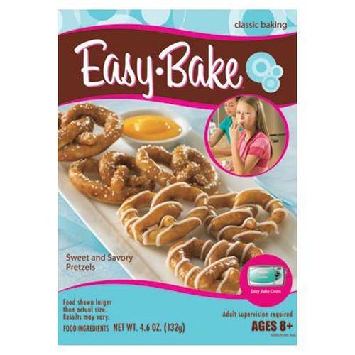 Hasbro Easy Bake Oven Sweet And Savory Pretzels