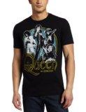 Bravado Men's Queen In Concert T-Shirt, Black, X-Large