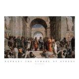 School of Athens by Raphael - Raffaello Santi - 24 x 36 inches - Fine Art Print / Poster Fine Art Poster Print, 36x24