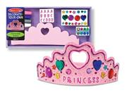 Melissa And Doug Decorate-your-own Princess Tiara Kit
