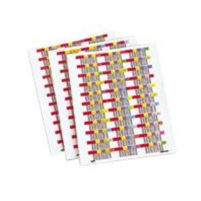 Quantum 3-01109-02 Bar Code Labels
