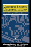 This book is written for current and prospective users of maintenance management systems within industrial manufacturing facilities