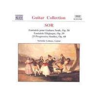 Nicholas Goluses - Sor/Fantaisie Pour Guitare Seule (Music CD)
