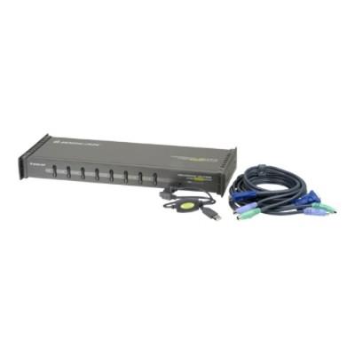 Iogear Gcs138kitup Miniview Ultra Kvm Switch Gcs138 - Kvm Switch - Ps/2 - 8 X Kvm Port(s) - 1 Local User - Desktop