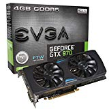 EVGA GeForce GTX 970 4GB FTW GAMING ACX 2.0, 26% Cooler and 36% Quieter Cooling Graphics Card 04G-P4-2978-KR