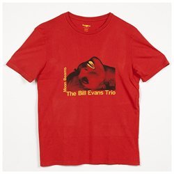 The Bill Evans Trio Moon Beams Jazz Blues T-Shirt, Red XL