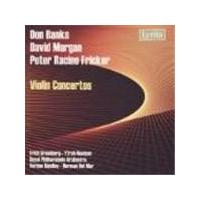 Banks/Morgan/Fricker - Violin Concertos (Del Mar, Handley, Neaman, Gruenberg, RPO) (Music CD)