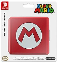 Nintendo 617885017018 Super Mario Case For 12 Switch Game Cards And 12 Microsd Cards