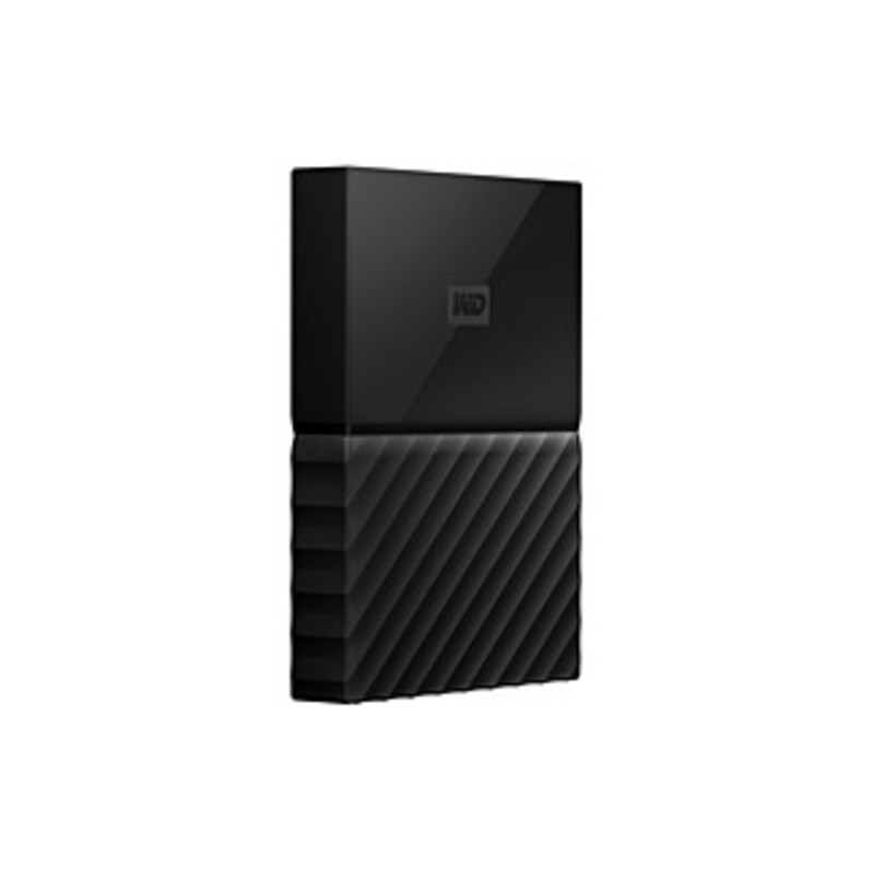 Wd My Passport For Mac Wdbp6a0040bbk-wesn 4 Tb External Hard Drive - Portable - Usb 3.0 - Black - 256-bit Encryption Standard