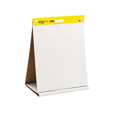 3m 563r Tabletop Easel Pad White 20 In X 23 In 20sheets/pad