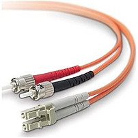 The Belkin F2F402L0 10M 32.81 Feet Multimode Duplex Fiber Patch Cable re backward compatible with existing network equipment and provide close to three times the bandwidth of traditional 62.5 125 multimode fibers