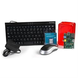 Raspberry Pi Bundle with Keyboard, Mouse, Case, Power Supply, and 4 Gig SD card with OS by EasyAsPi