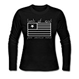 Women Lamb Of God Pure American Metal Tshirt Long Sleeve