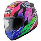Arai QUANTUM-J Sakata With Clear Shield Full Face Helmet QJ-SAK-61