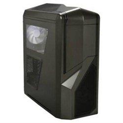 NZXT CA-PH410-G1 Black Steel PHANTOM 410 ATX Mid Tower 3/0/(6) Bay USB Gunmetal Trim Computer Case