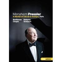 Menahem Pressler in Recital at Cité de la musique, Paris (Music CD)