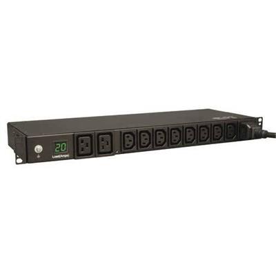 Tripplite Pdumh20hv Single-phase Metered Pdu - Horizontal Rackmount - Power Distribution Unit ( Rack-mountable ) - 20 A - Ac 200/208/230/240 V - 3.8 Kw - Input:
