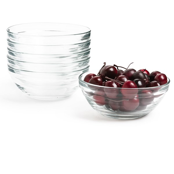 Duralex Lys Stackable Bowls - Set Of 6