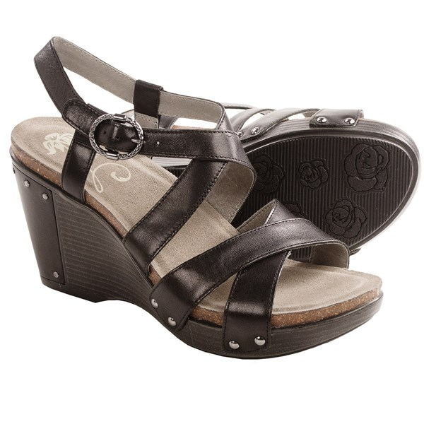 Dansko Frida Wedge Sandals (For Women)